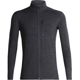 Icebreaker M's Descender LS Zip Jacket jet heather/monsoon